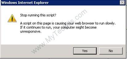 Stop Running This Script?