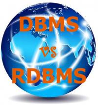DBMS vs RDBMS