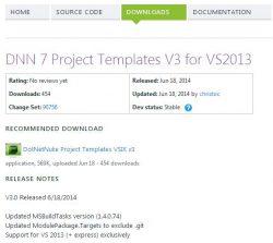 DNN Visual Studio Project Template 01