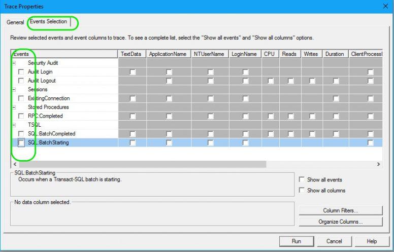 Find Long Running Stored Procedures - Profiler 02