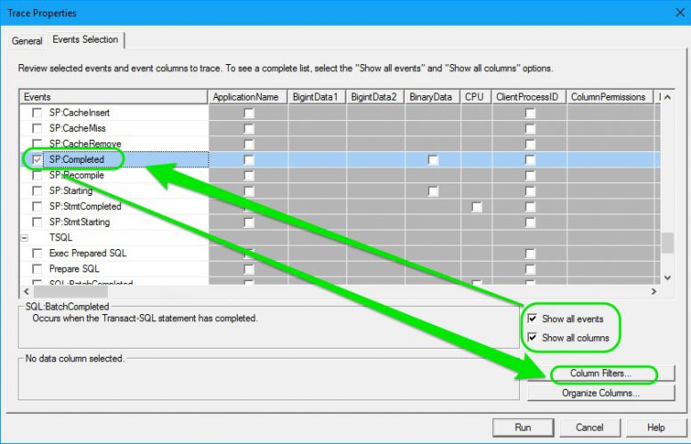 Find Long Running Stored Procedures - Profiler 03