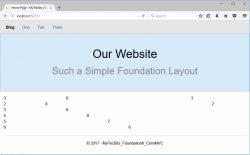 Zurb Foundation 6 with ASP.NET Core MVC 18
