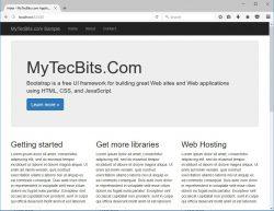 Add Bootstrap In ASP.NET MVC 28