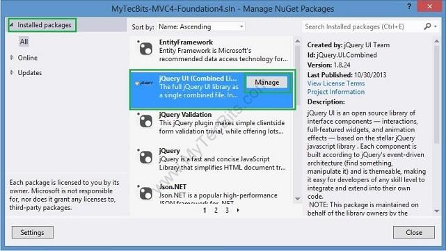 Zurb Foundation 4 with ASP.NET MVC 4 - 004