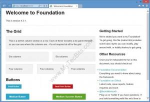 MVC4-Foundation4