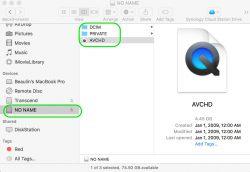 Opening AVCHD .MTS Files on Mac