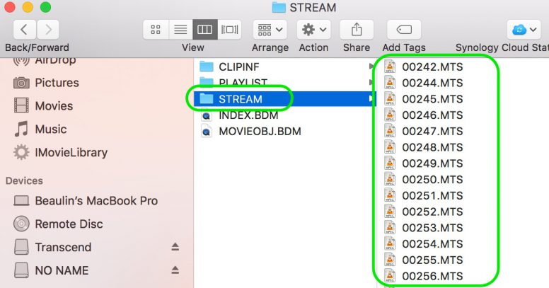 Opening AVCHD MTS Files on Mac
