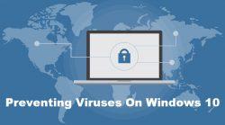 Preventing Viruses On Windows 10