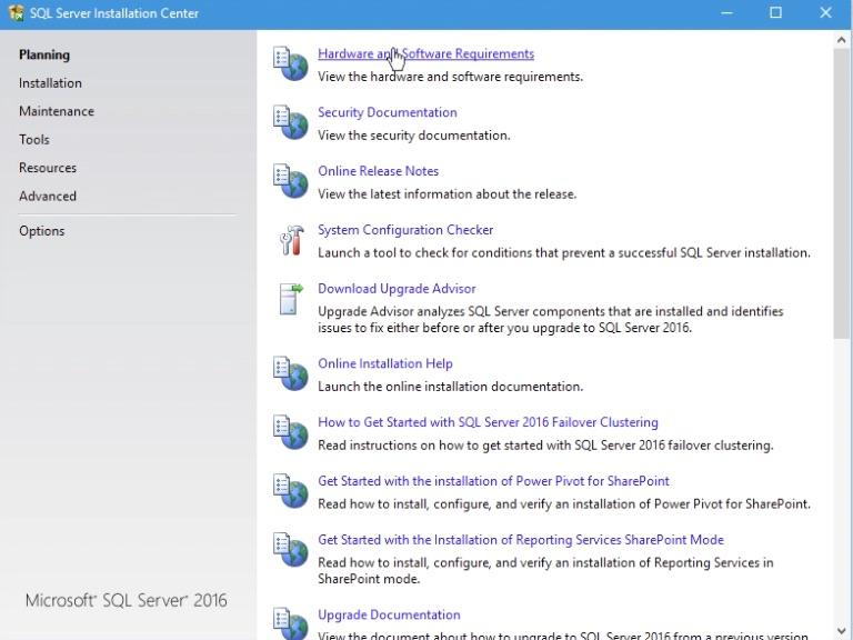 SQL Server 2016 Installation Step 02