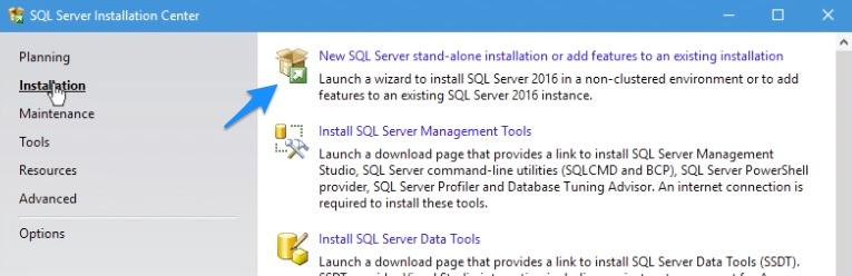 SQL Server 2016 Installation Step 03