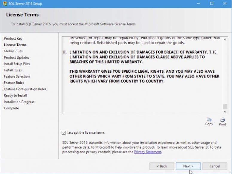 SQL Server 2016 Installation Step 05
