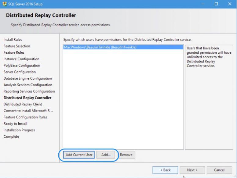 SQL Server 2016 Installation Step 15