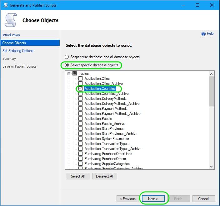 Auto Generate INSERT Statements in SQL Server 02