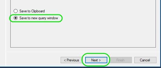 Auto Generate INSERT Statements in SQL Server 04