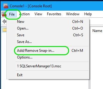 SQL Server Configuration Manager 2