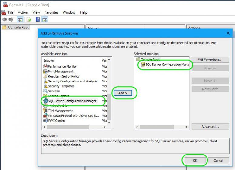 SQL Server Configuration Manager 3