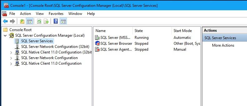 SQL Server Configuration Manager 4