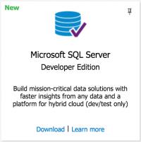 SQL Server Developer Edition For Free