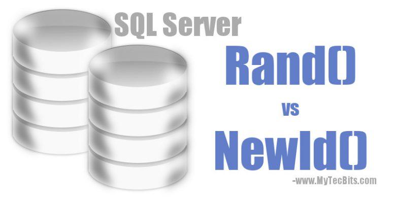 Rand() vs NewId()