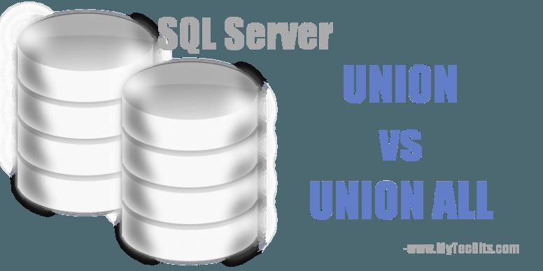 UNION vs UNION ALL in SQL Server