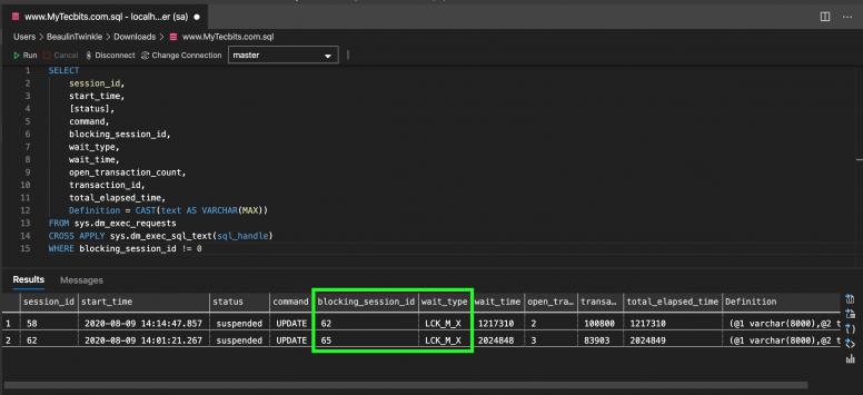 T-SQL query to find deadlocks in SQL Server
