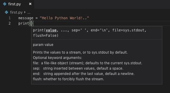 my first python code