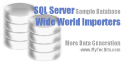 Generating More Data In WideWorldImporters 01