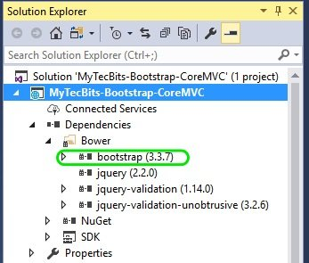 Bootstrap In ASP.NET Core MVC 03