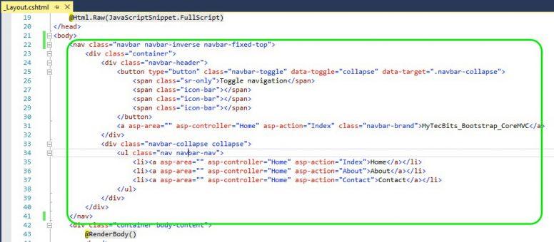 Bootstrap In ASP.NET Core MVC 07