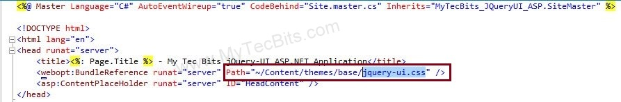 jQuery UI with ASP.NET - 04