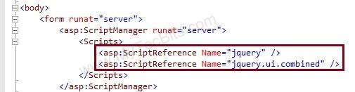 jQuery UI with ASP.NET - 05